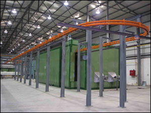 Paint coating lines