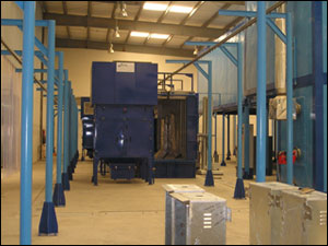 Paint coating equipment
